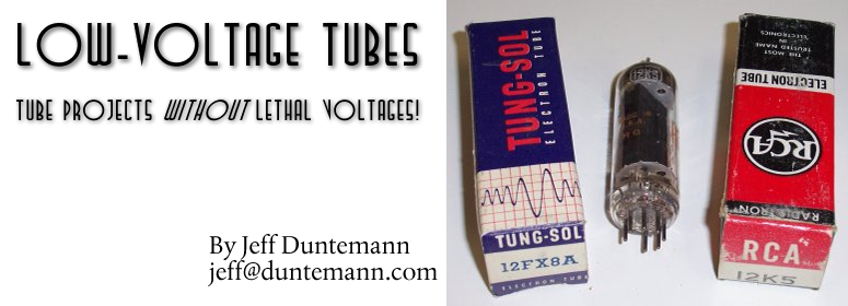 Space Charge and Other Low-Voltage Tubes