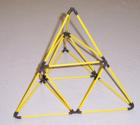 Build A D Stix Tetrahedral Kite